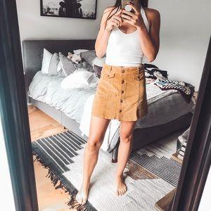 Urban Outfitters BDG mini corduroy skirt